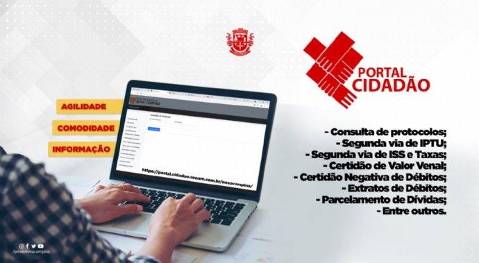 Prefeitura disponibiliza novos serviços através do Portal do Cidadão