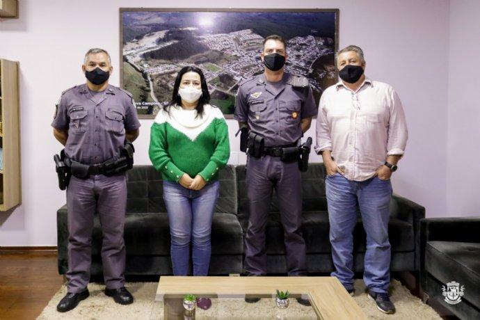 Sargento Rocha é o novo comandante da Policia Militar de Nova Campina