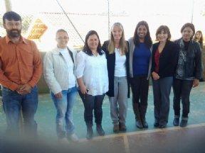 Professoras norte-americanas visitam o município.