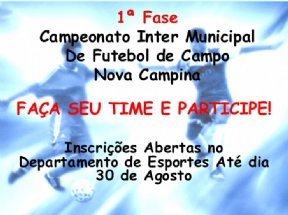 Campeonato Inter Municipal de Futebol de Campo