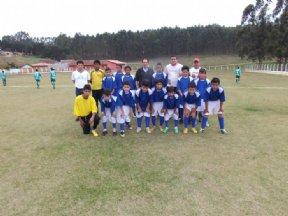 O Departamento de Esporte realiza Jogo Amistoso- Dia das Crianças