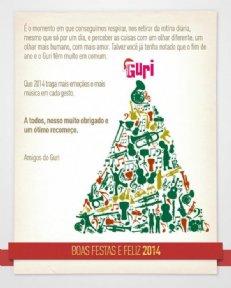 Boas Festa e Feliz 2014 !!! Projeto Guri