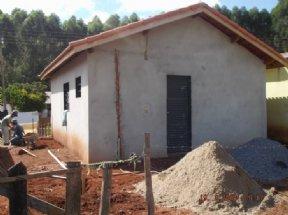 """9 casas do Programa """"Minha Casa Minha Vida"""", já estão em fase de acabamento."""