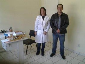 Prefeito visita o Posto de Saúde do bairro do Barreiro.