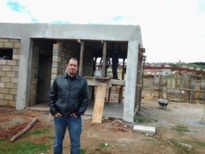 Prefeito visita obras de Construção do Terminal Rodoviário.